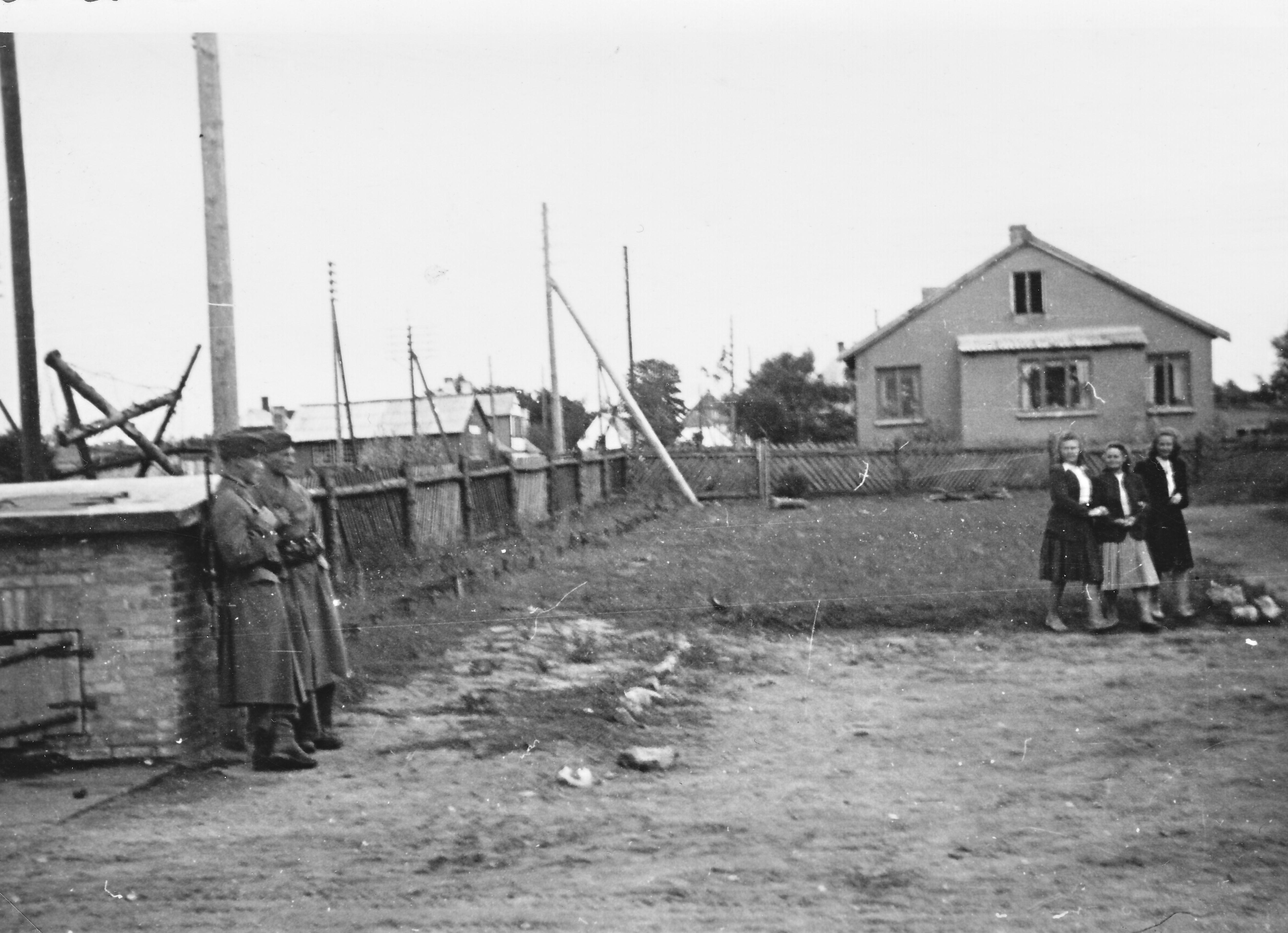 Tirstrup juli 1945