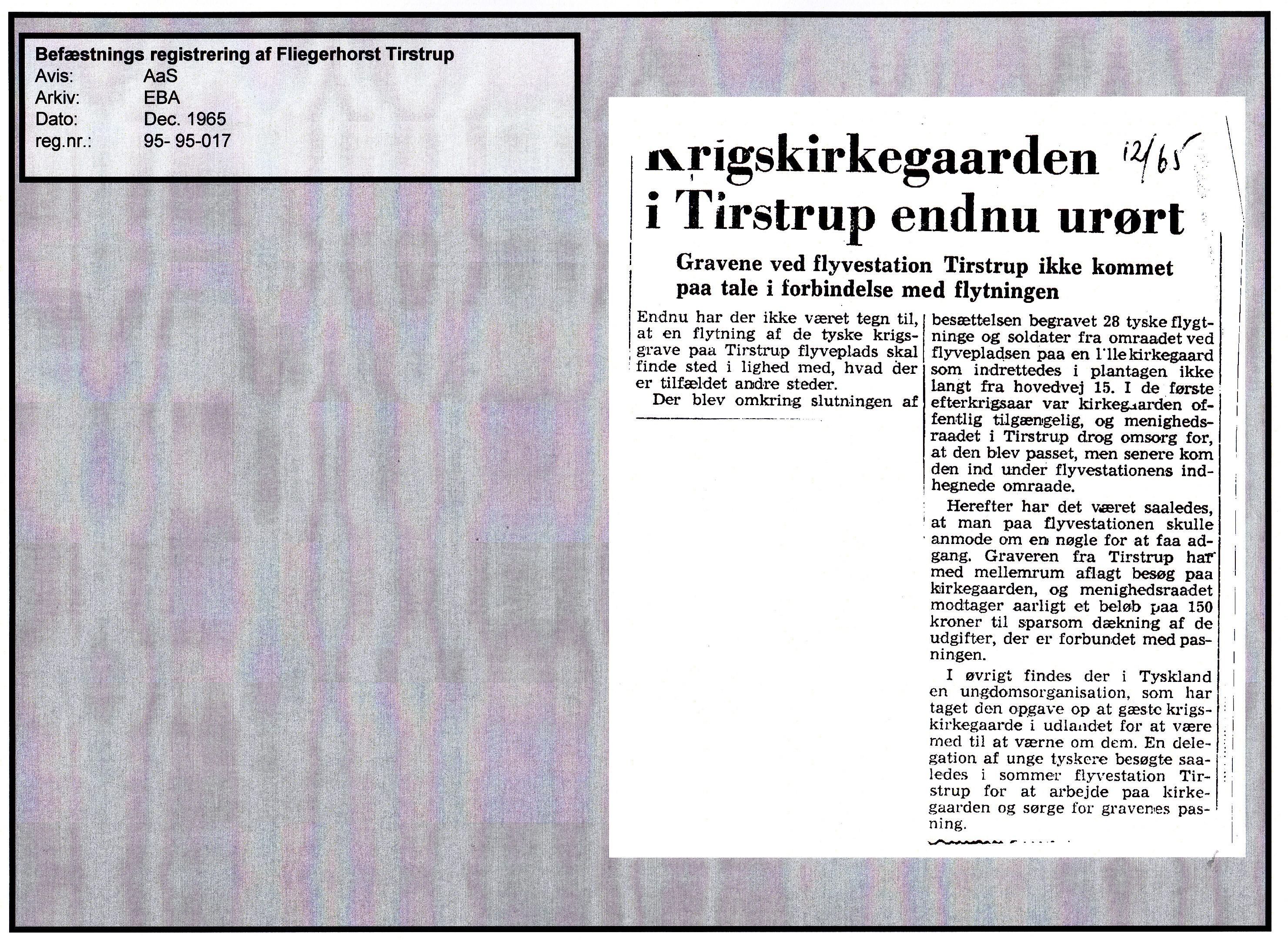 Avisartikel 95-95-017